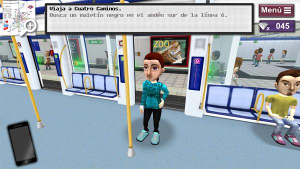 Downtown, El Juego Para Moverse Por Metro De Madrid