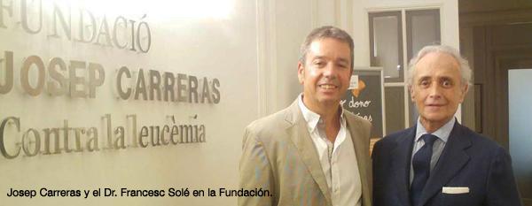 """Doctor Solé: """"La Investigación Es Clave Para Curar Más Enfermos De Síndromes Mielodisplásicos"""""""
