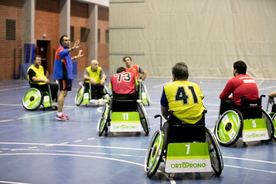 Madrid Acoge Una Exhibición De A-ball, Una Nueva Oportunidad Para Ser Futbolista