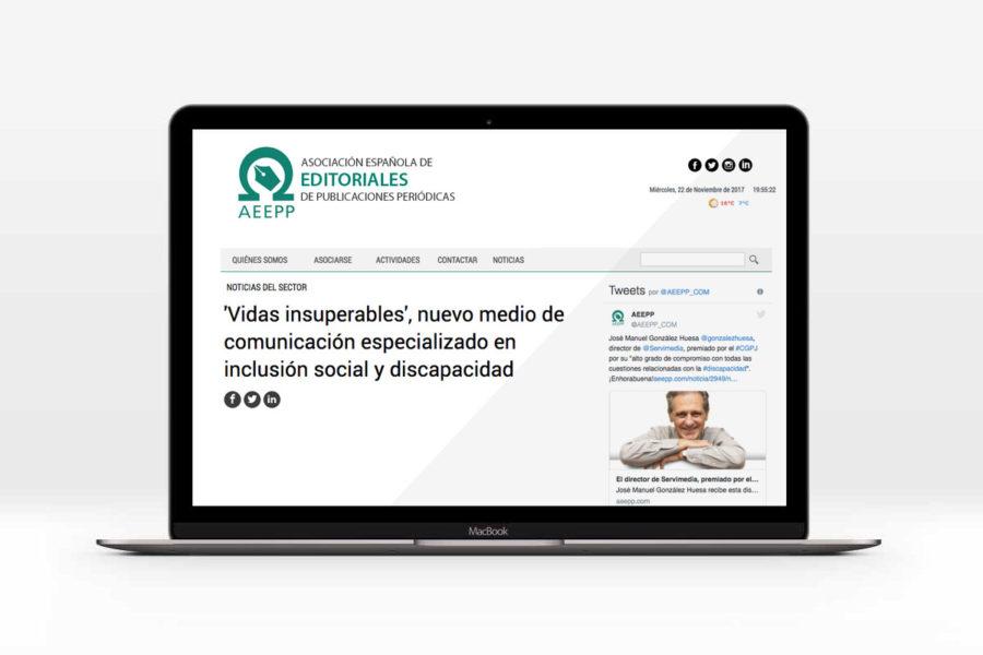 La Asociación Española De Editoriales De Publicaciones Periódicas Se Hace Eco Del Nacimiento De Vidas Insuperables