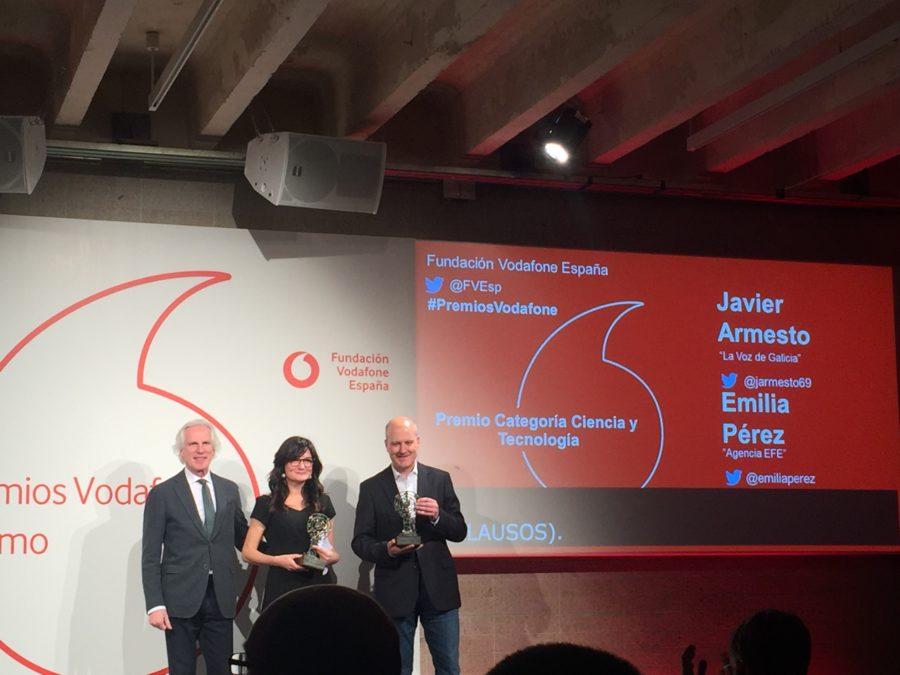 Entregados Los XVII Premios Vodafone De Periodismo