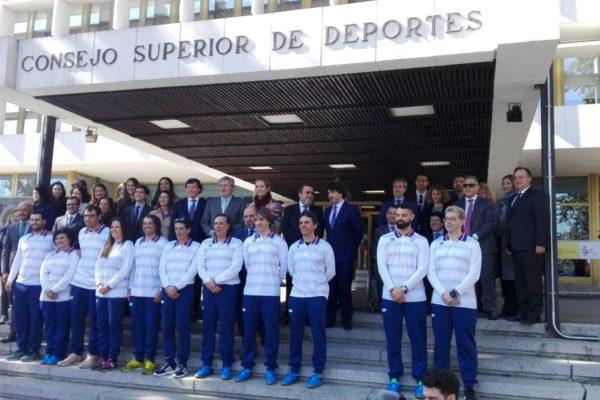 El Equipo Paralímpico Español Se Despide Y Pone Rumbo A Pyeongchang