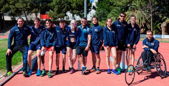 Las Promesas Del Atletismo, El Baloncesto De Silla De Ruedas Y La Boccia Se Citan En Valencia
