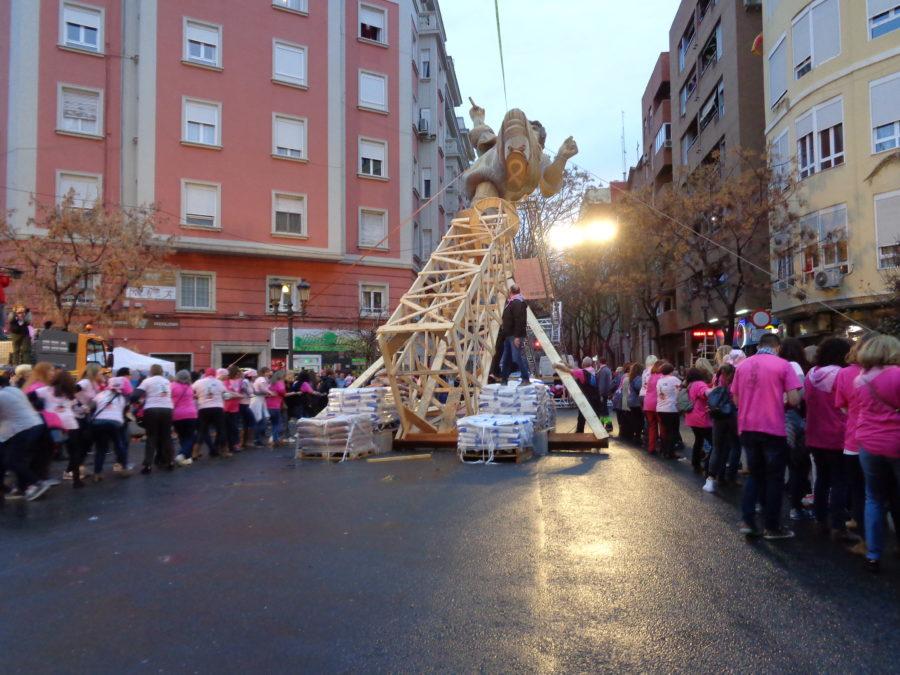 La Solidaridad, Presente En Las Fallas De Valencia
