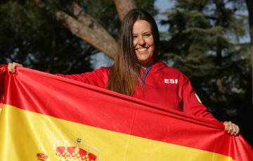 Astrid Fina, La Abanderada Del Equipo Español En 2018