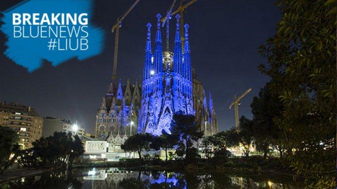 Las Ciudades Se Tiñen De Azul