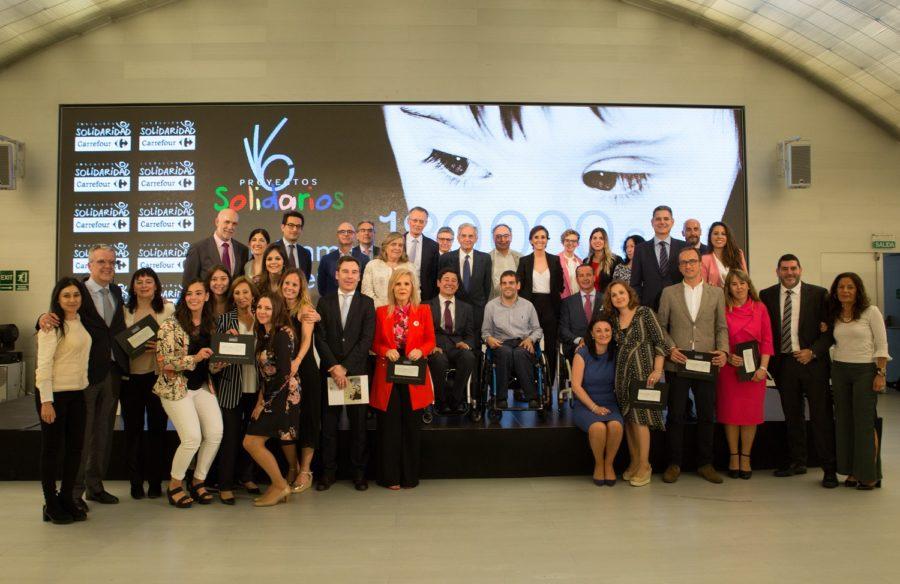 Carrefour, Premio Reina Letizia 2018 De Promoción De La Inserción Laboral De Personas Con Discapacidad