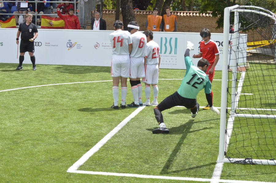 Euforia Silenciosa Durante El Mundial De Fútbol Para Ciegos