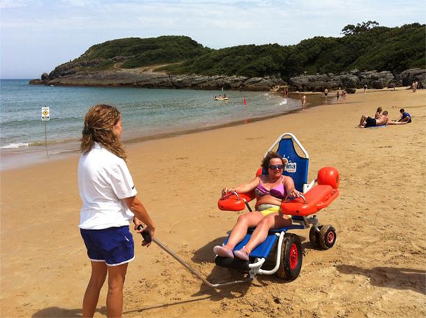 35 Playas Optan A La Bandera De La Accesibilidad