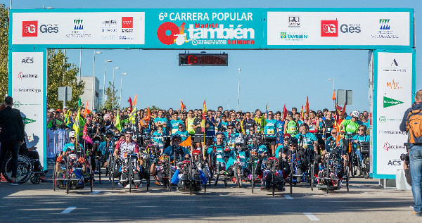 La Carrera Que Une A Madrid