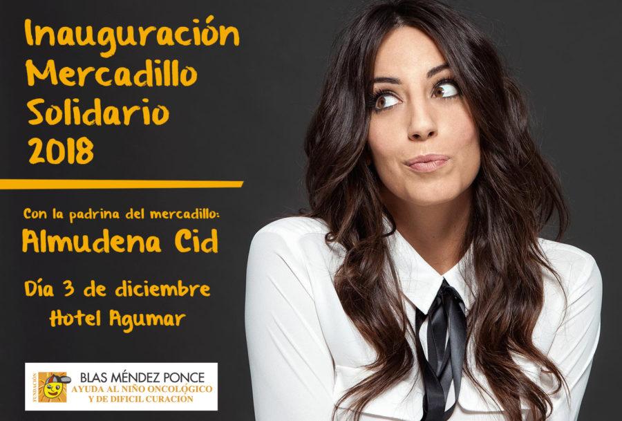 Almudena Cid Será La Madrina Del Mercadillo Solidario De La Fundación Blas Méndez Ponce