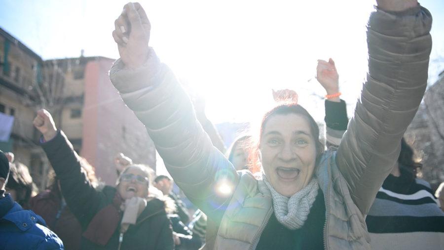 Las Cantautoras María Ruiz Y La Mare, Junto A Las Mujeres Con Discapacidad Intelectual, Cantan Por La Igualdad