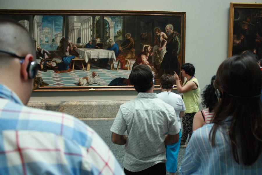 Brochazos De Inclusión En El Museo Del Prado