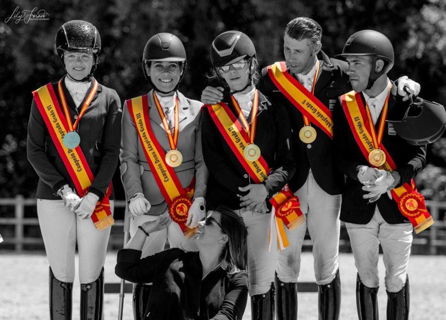 La Hípica Paralímpica, Al Galope