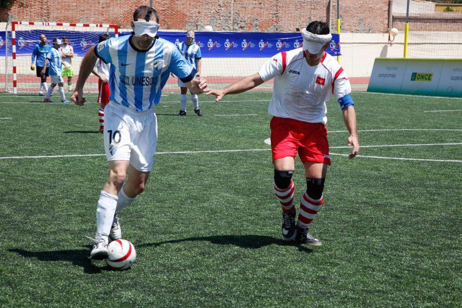 El Málaga, Campeón De España De Fútbol-5 Para Ciegos