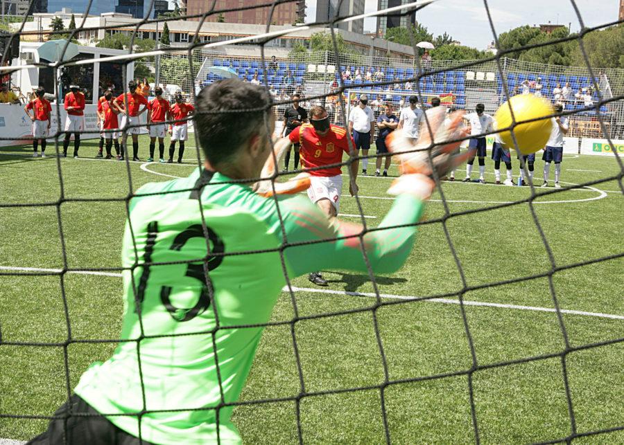 El Fútbol Para Ciegos Se Hace Un Hueco En La Final De La Champions