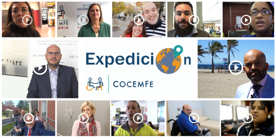 """""""Expedición COCEMFE"""", Una Comunidad Audiovisual"""