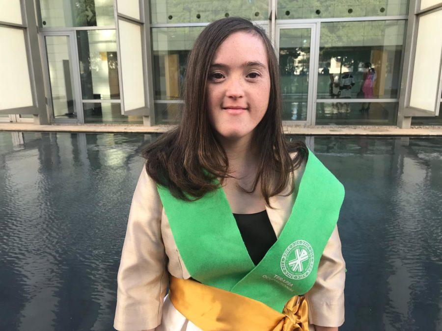 Blanca San Segundo, La Primera Mujer Con Síndrome De Down En Conseguir Un Grado Universitario En España