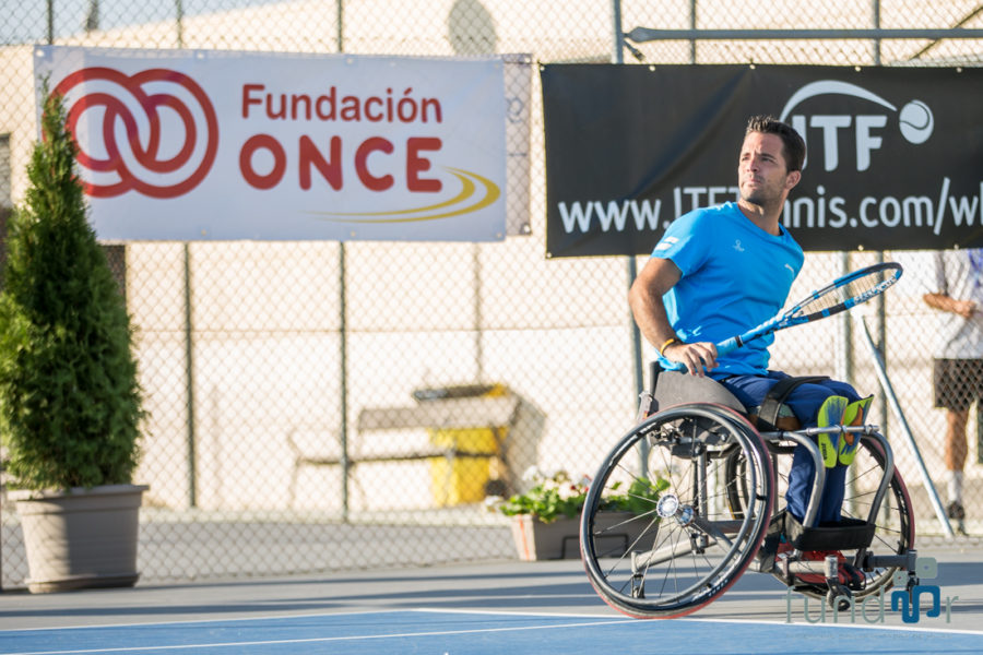 Rivas Reúne A Las Mejores Raquetas De Tenis En Silla De Ruedas