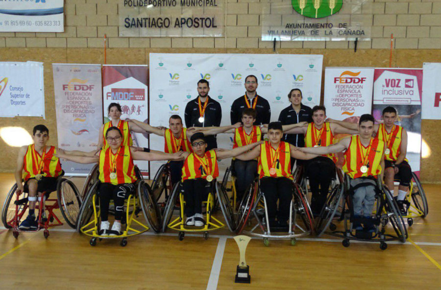 El Baloncesto En Silla De Ruedas Se Abre Hueco En El Deporte Escolar