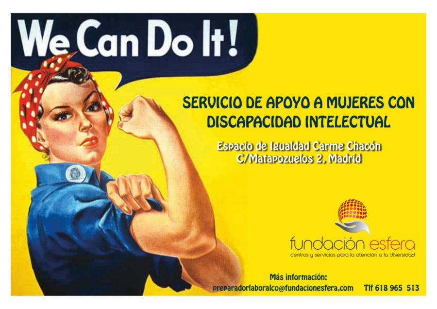 El Apoyo Y Respaldo A Las Mujeres Con Discapacidad Como Objetivo