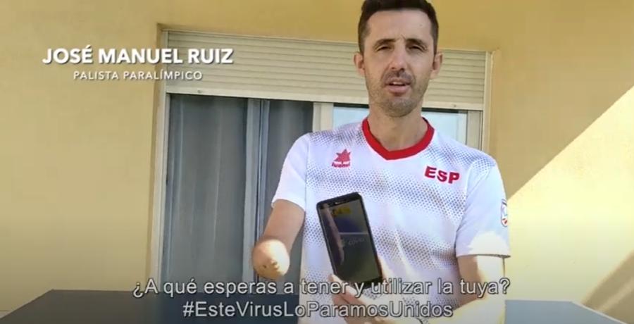 Los Deportistas Paralímpicos, Prescriptores De La App Radar Covid