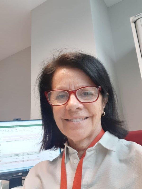 Olga Delgado, presidenta de la Sociedad Española de Farmacia Hospitalaria.